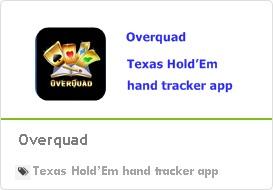 Overquad: texas Hold'Em hand tracker app